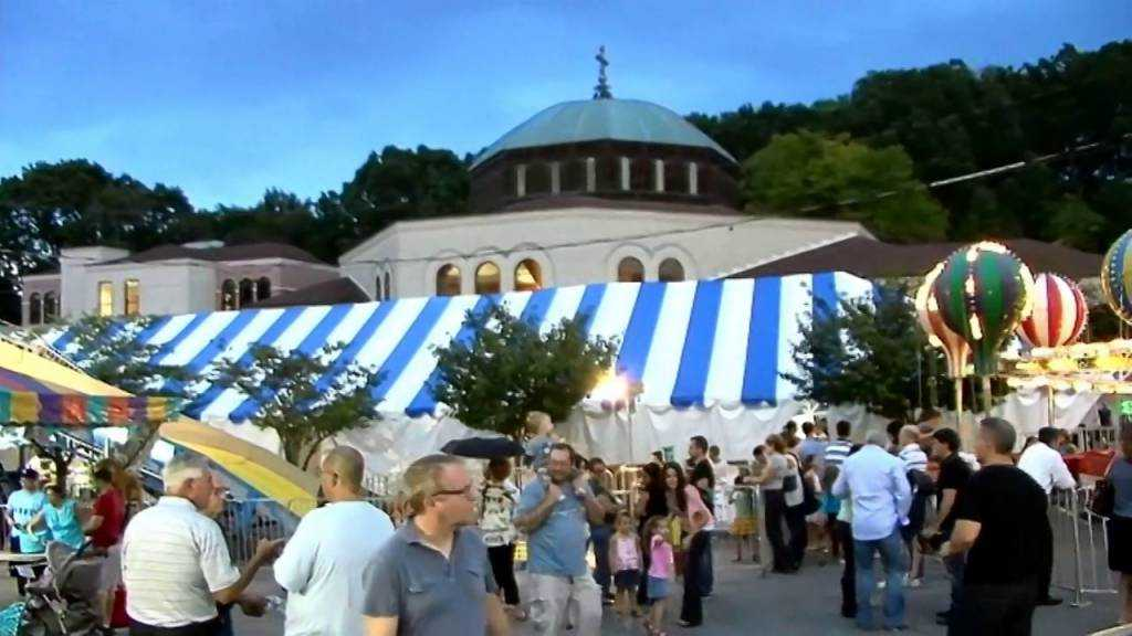 The 40th Annual Greek Affair at St. Luke's Greek Orthodox Church at Broomall, PA is running from September 20-24