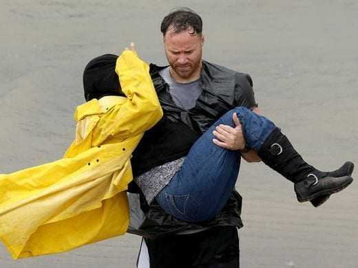 Hurricane Harvey heroes save the day