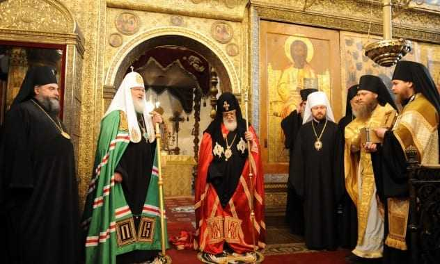 The religious diplomacy of Russian and Georgian Church