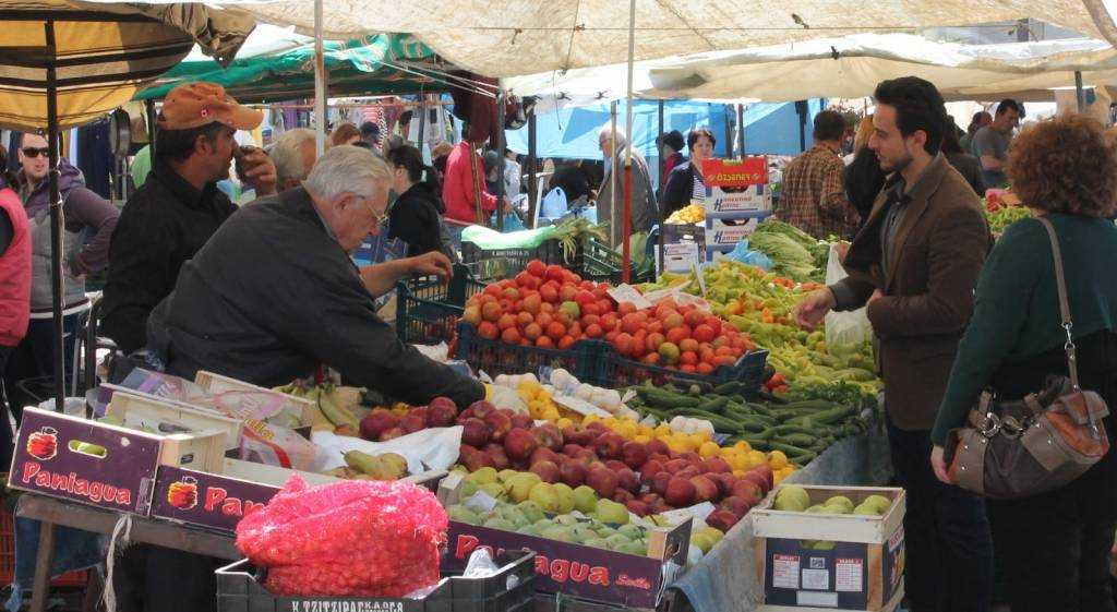 The Greek farmer market (laiki) and how to make the best of it
