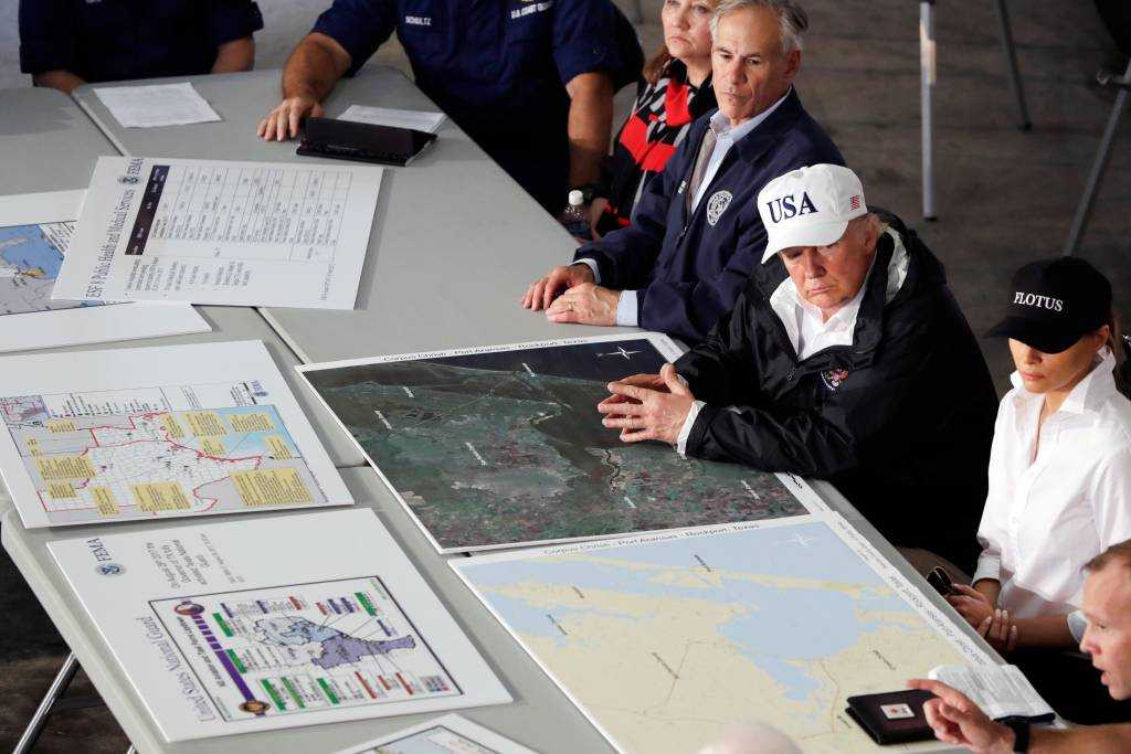 Trump proved that he can respond quickly when a disaster arises