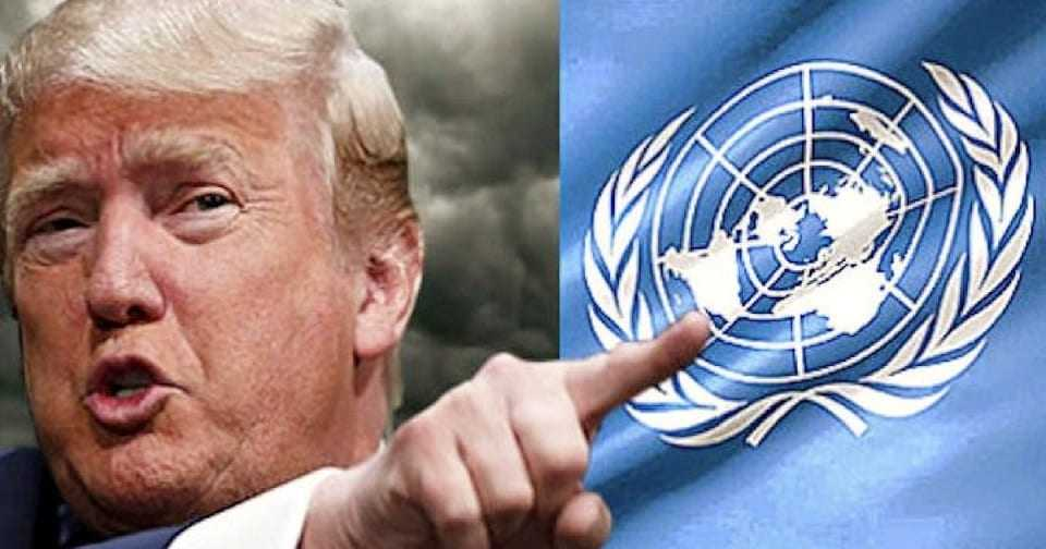 The President's speech at the UN highlighted the new world strategy of America