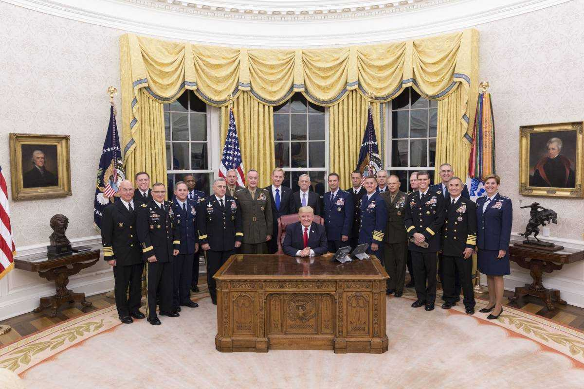 The Trump Administration promotes Space and National Security programs