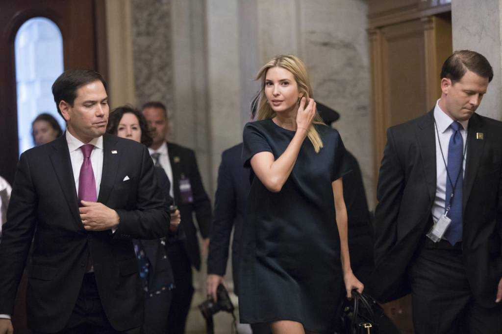 Ivanka Trump pushes for a family-focused tax credit