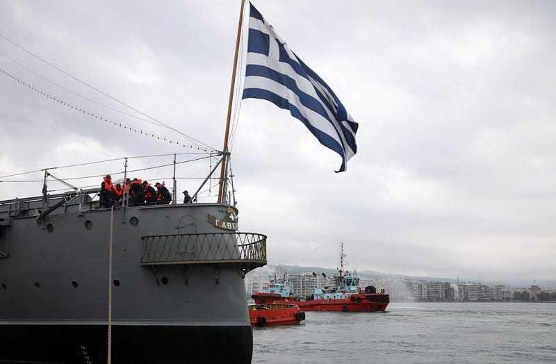 Στη Θεσσαλονίκη το ιστορικό «Θωρηκτό Αβέρωφ»