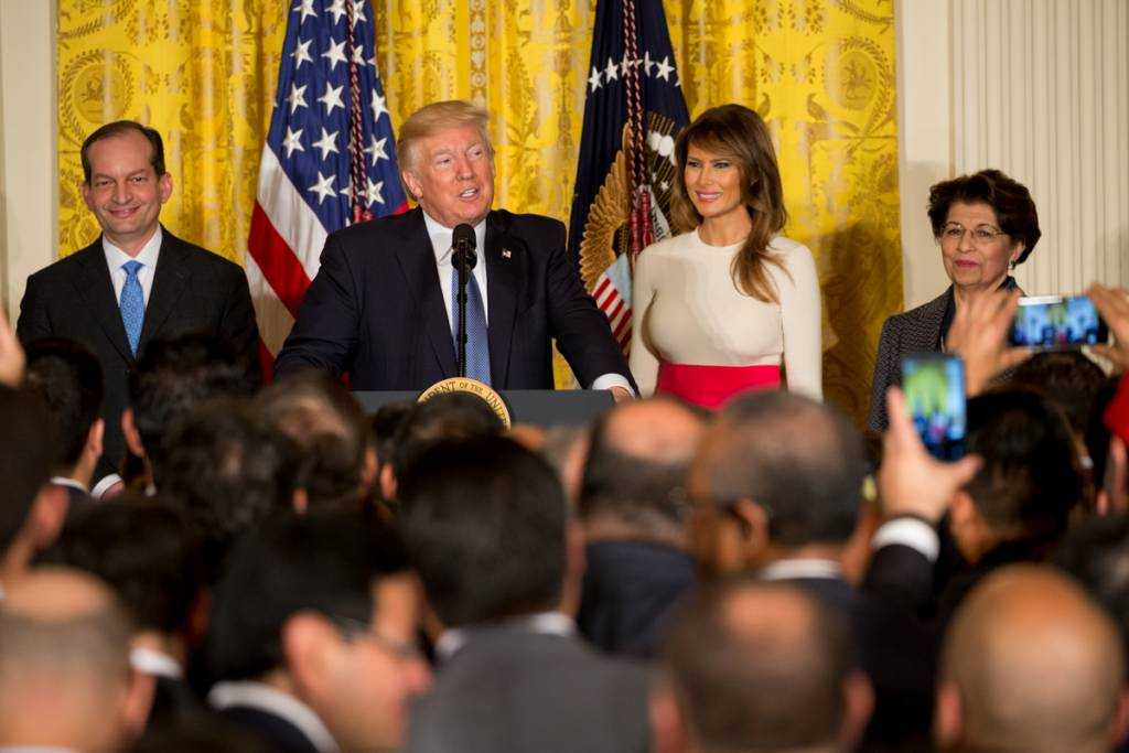 President Trump honored the Hispanic Heritage of the United States