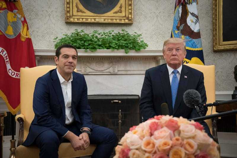 Donald Trump announces his «TrumpCare» during his meeting with Alexis Tsipras
