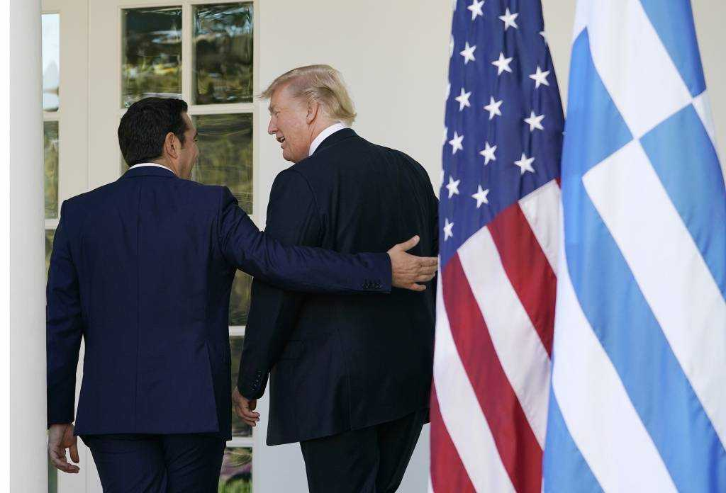 Alexis Tsipras highlights his meeting with Donald Trump as a «productive» one