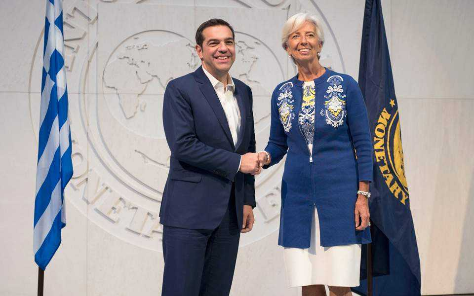 Joint Statement by Greek PM Alexis Tsipras  and IMF Managing Director Christine Lagarde Lagarde