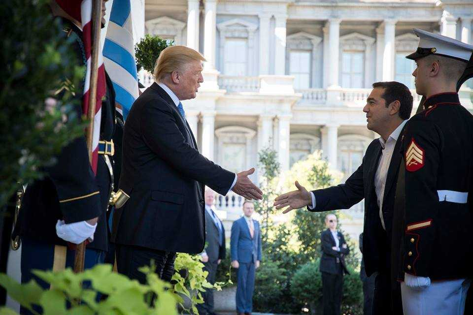 Tsipras and Trump introduce their strategic cooperation