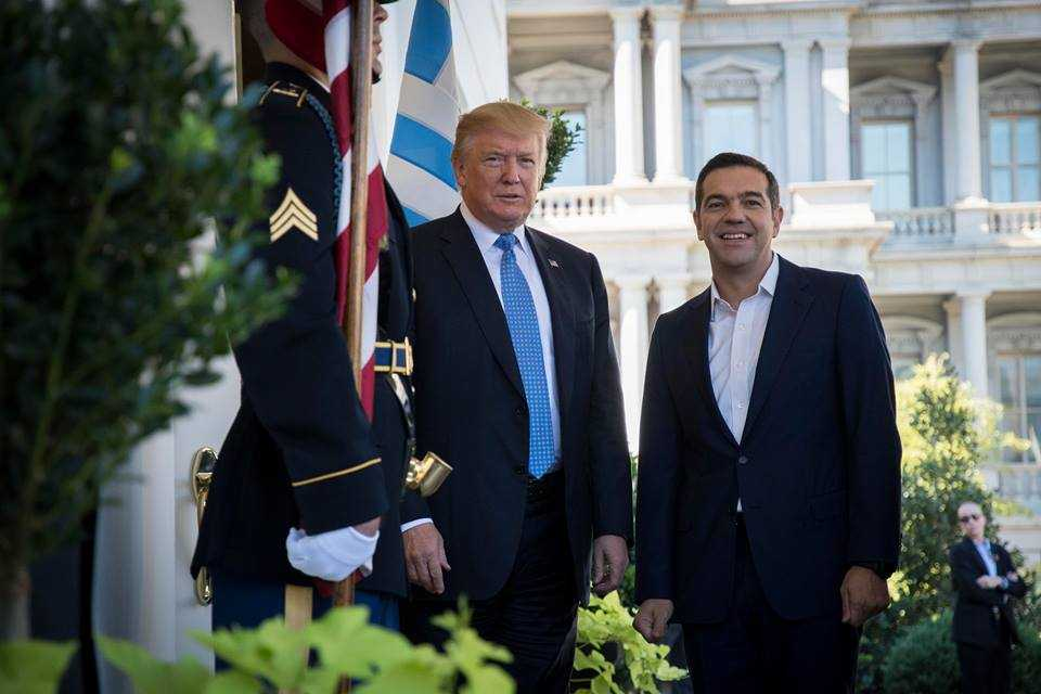 President Trump and Alexis Tsipras's remarks on their yesterday meeting