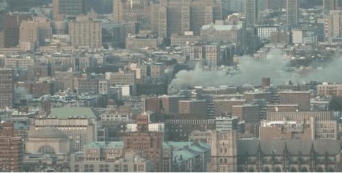 Μεγάλη πυρκαγιά στη Νέα Υόρκη (ΒΙΝΤΕΟ-ΦΩΤΟ)