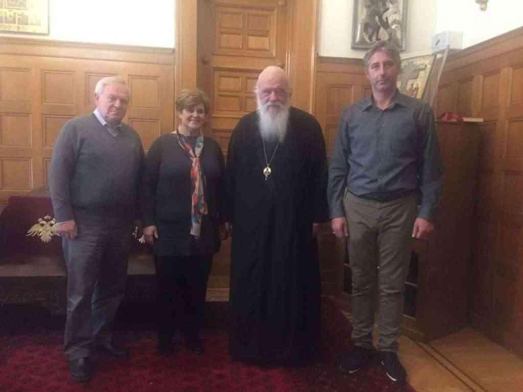 Επισκέφτηκαν τον Αρχιεπίσκοπο Αθηνών και Πάσης Ελλάδος οι επίσημοι διοργανωτές του συλλαλητηρίου των Αθηνών