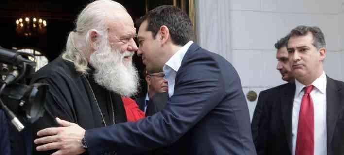 Τσίπρας προς Ιερώνυμο : Η κυβέρνηση θα αντιμετωπίσει με αίσθημα εθνικής ευθύνης το θέμα της ονομασίας των Σκοπίων
