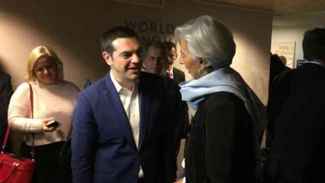 Μεταρρυθμίσεις και ελάφρυνση χρέους συζήτησαν Τσίπρας- Λαγκάρντ