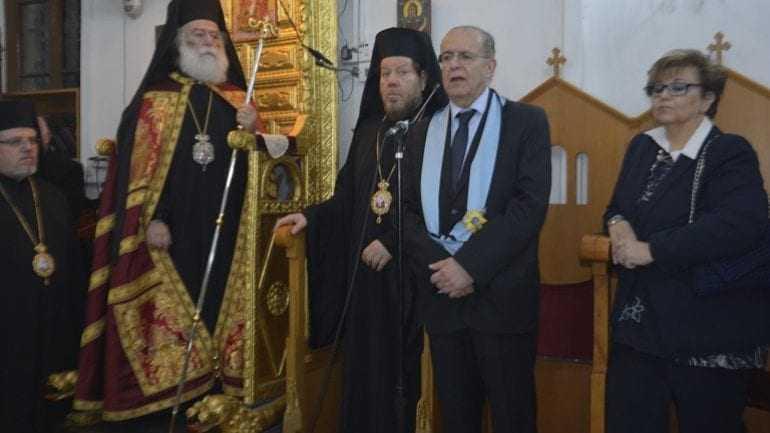 Ο Μακαριώτατος Πατριάρχης Αλεξανδρείας κ.κ. Θεόδωρος στη Κύπρο