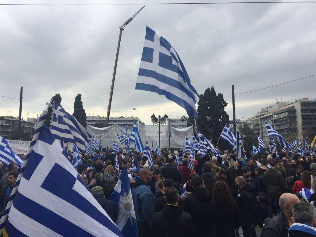 Συλλαλητήριο για την Μακεδονία στη Μελβούρνη
