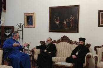 Συνάντηση με τον Αρχιεπίσκοπο Κύπρου είχε ο Πατριάρχης Αντιοχείας