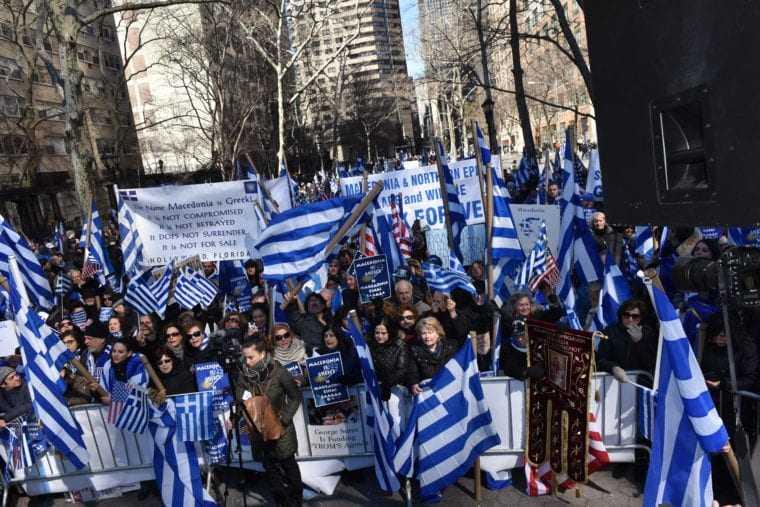 Οργισμένη αντίδραση της Παμμακεδονικής ΗΠΑ για την διαπραγμάτευση για τα Σκόπια