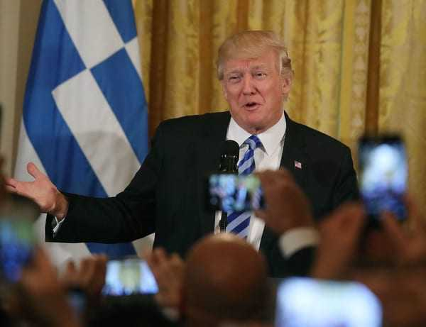 Trump hosts Greek Independence Day celebration at the White House