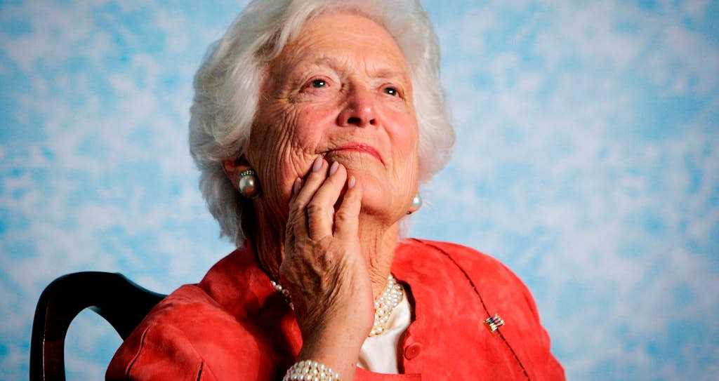 White House issues statement on passing of Barbara Bush