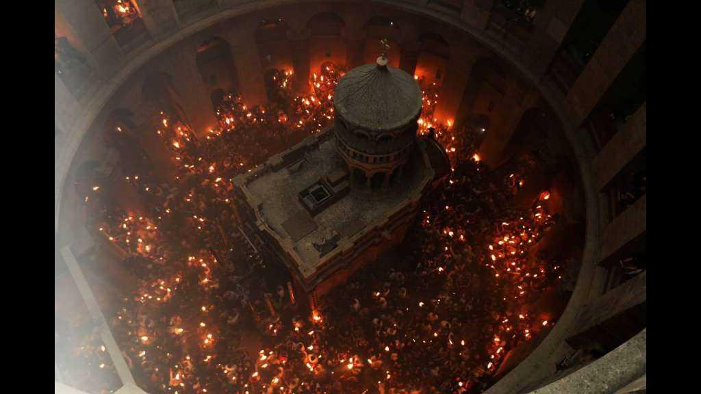 Η μυσταγωγική τελετή Αφής του Αγίου Φωτός (ΒΙΝΤΕΟ)
