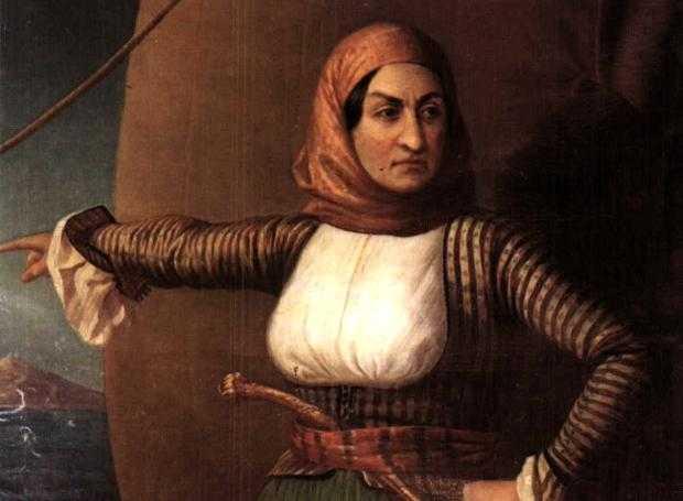 Λασκαρίνα Μπουμπουλίνα: Η μεγάλη αγωνίστρια της επανάστασης του 1821