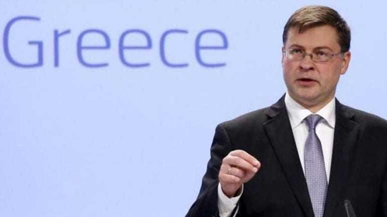 Ντομπρόβσκις :H επιστροφή της Ελλάδας στις αγορές είναι μια ευαίσθητη άσκηση