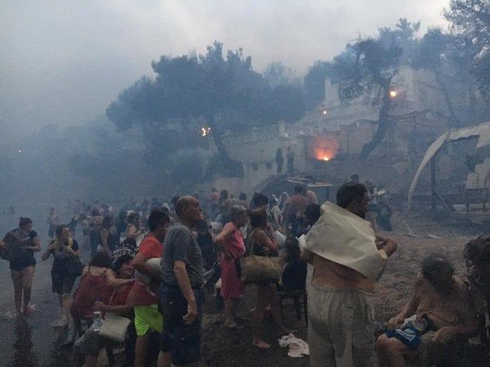 Η αποτύπωση του ολέθρου από τη φωτιά στο Μάτι (ΦΩΤΟ)