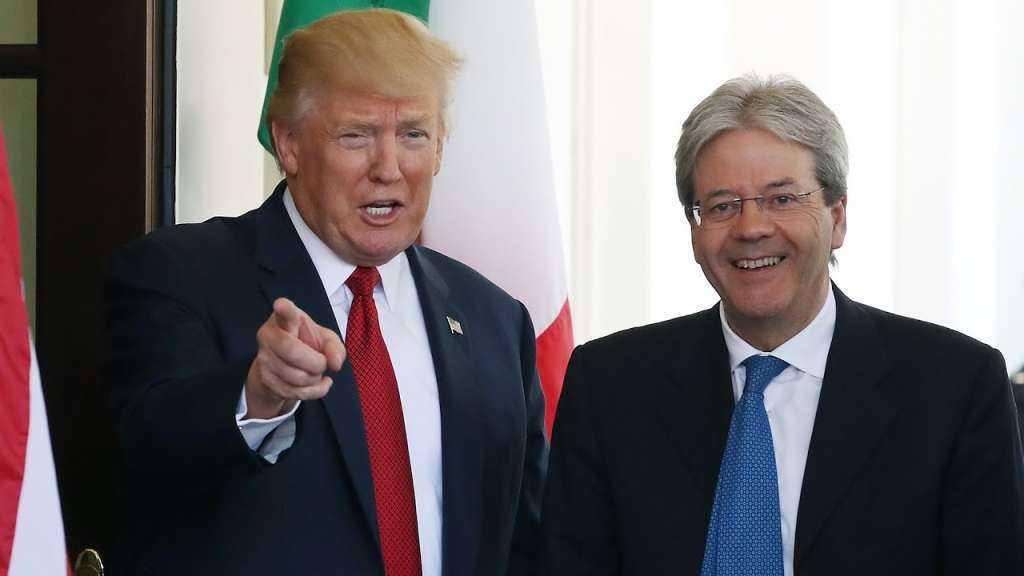 President Donald J. Trump welcomes Italian Prime Minister Giuseppe Conte