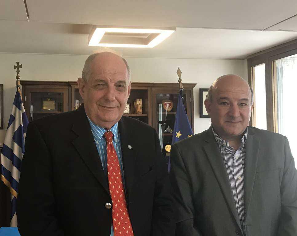 Συνάντηση ΥΦΥΠΕΞ, Τέρενς Κουίκ, με τον Πρόεδρο του Ελληνο-βουλγαρικού Συνδέσμου «Αριστοτέλης»