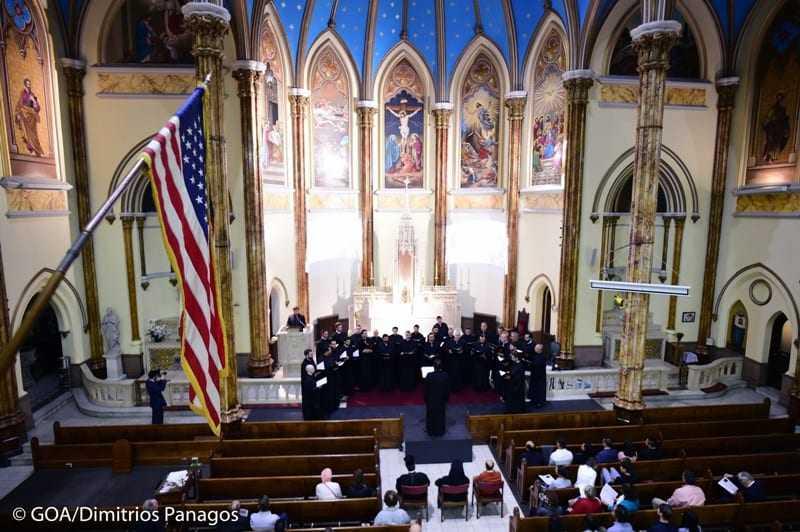 Η μεγάλη συναυλία της Αρχιεπισκοπικής Βυζαντινής Χορωδίας Αμερικής για την 11η Σεπτεμβρίου