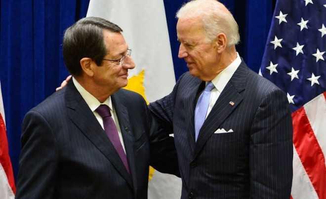 Biden σε Ν. Αναστασιάδη: Οι ΗΠΑ θεωρούν την Κύπρο σημαντικό εταίρο