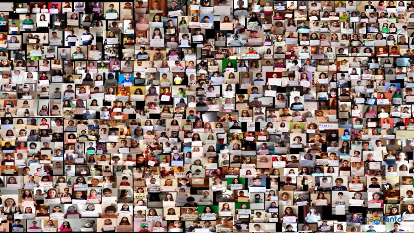 700 παιδιά από την Ευρώπη στέλνουν μήνυμα ελπίδας