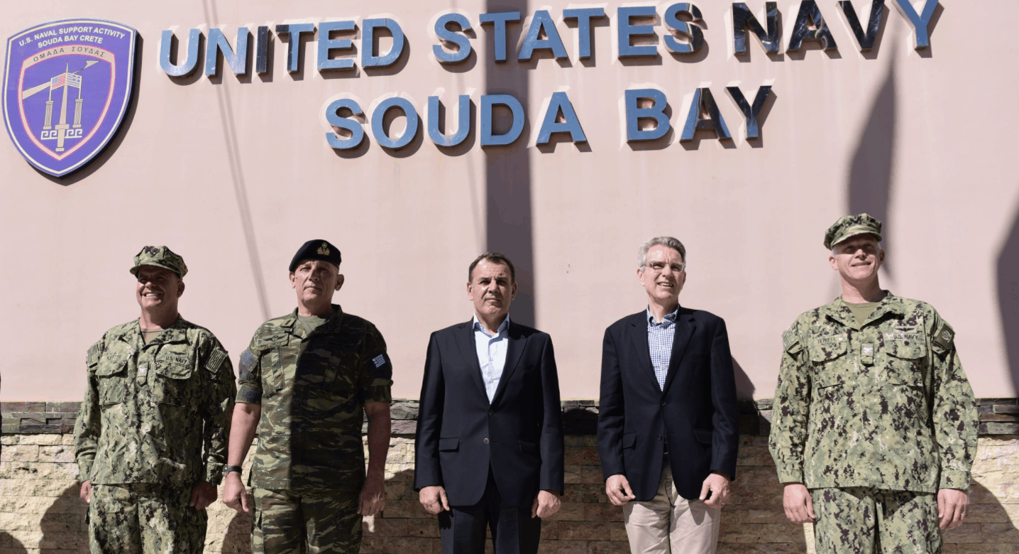 "Pyatt: ""Souda Bay, the flagship of US-Greece military cooperation"""